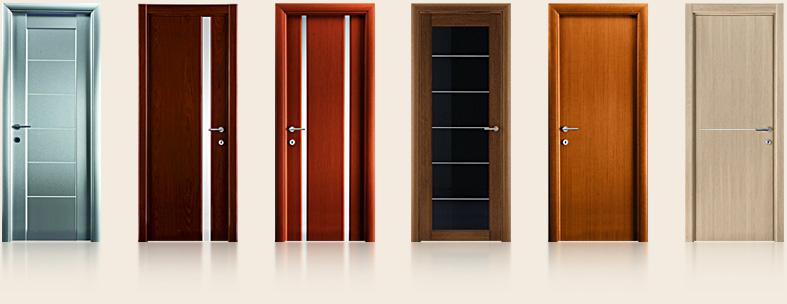 Межкомнатные двери различного типа