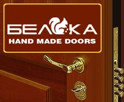 Логотип дверей Белка