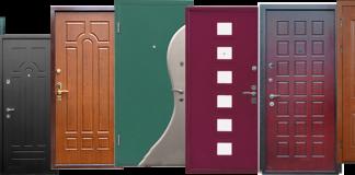 Двери из железа