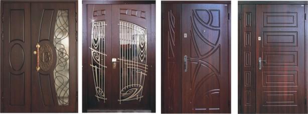 Двупольные входные двери