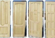 Двери, изготовленные из сосны