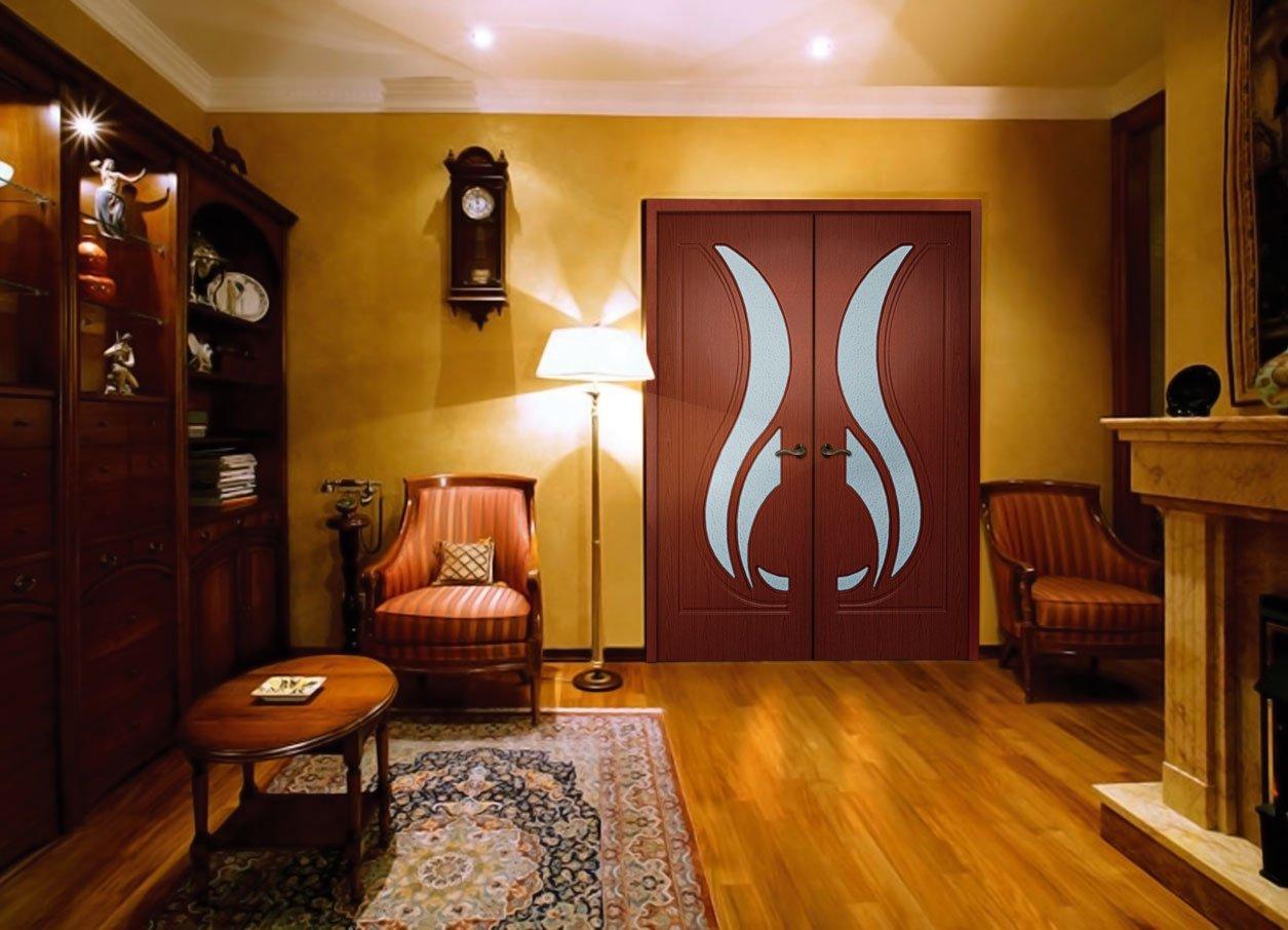 Двери межкомнатные в квартире дизайн