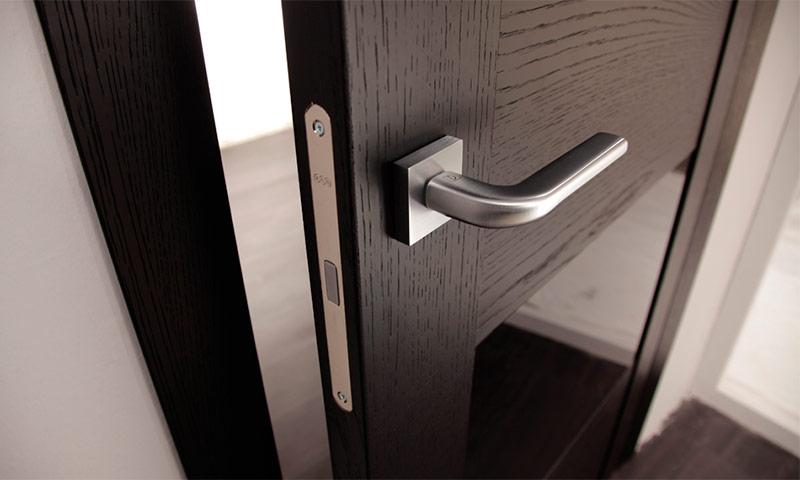 Дверь с магнитным замком