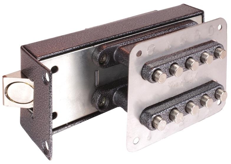 Механическое кодовое запорное устройство