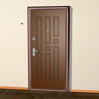 двери входные металлические накладные