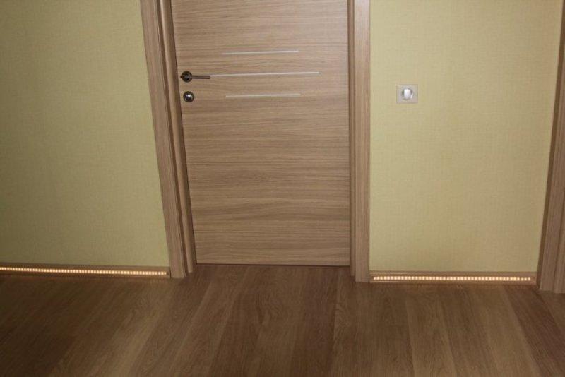 Сочетание цвета двери и ламината