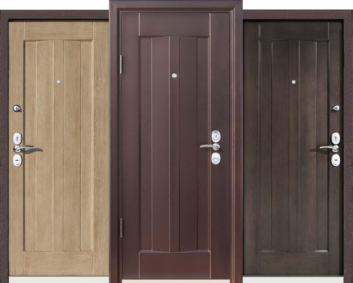 Одностворчатые двери из металла
