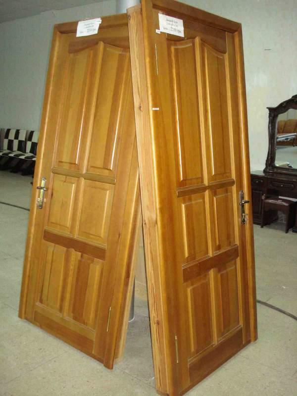 Входные двери из сосны