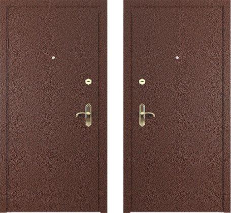 дверь входная металлическая дешево с установкой снаружи напыление внутри ламинат