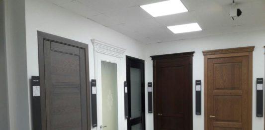 Двери Волховец в салоне продаж