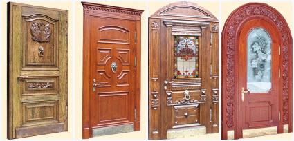 Двери из дубового массива