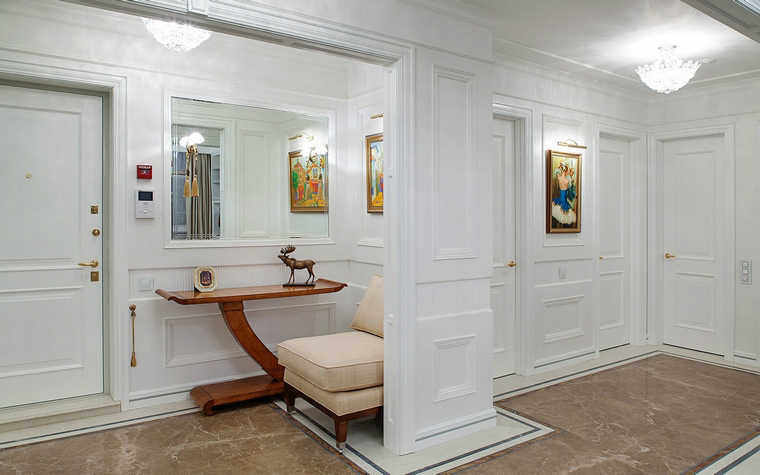 Сочетание цвета дверей для прихожей