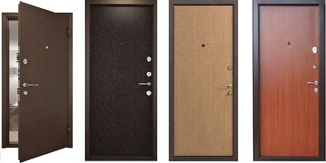 Бюджетные металлические двери