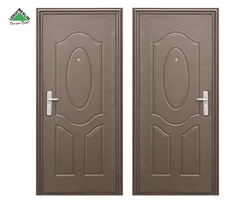 Металлическая дверь Леруа Мерлен