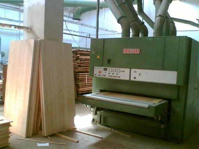 Изготовление цельного массива дерева