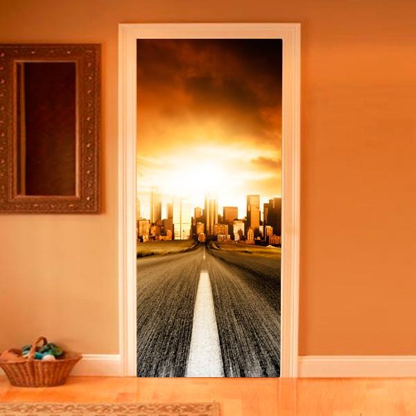 Двери с фото в интерьере