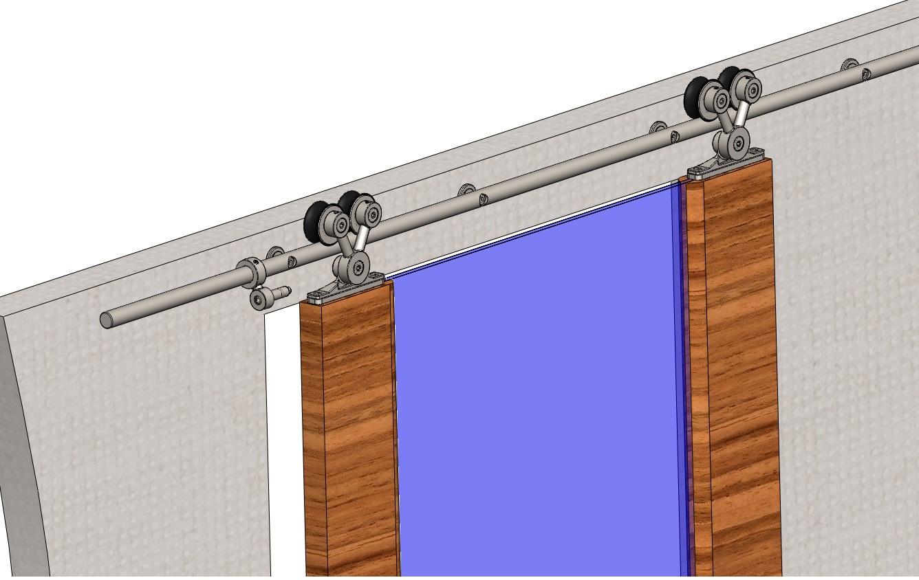 Раздвижные двери своими руками : монтаж, установка, изготовление 42