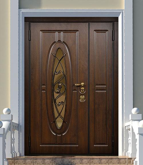 Наружная дверь Стальная Линия