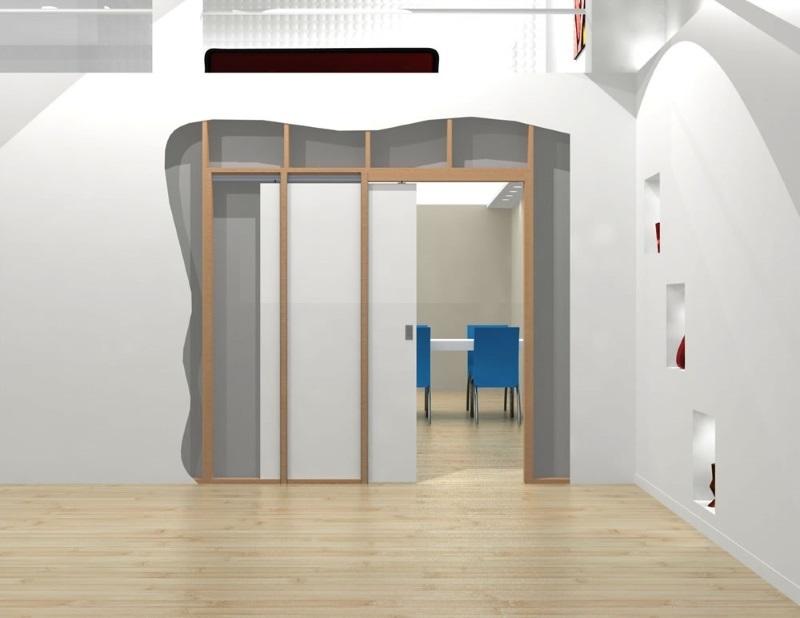Конструкция двери-пенал