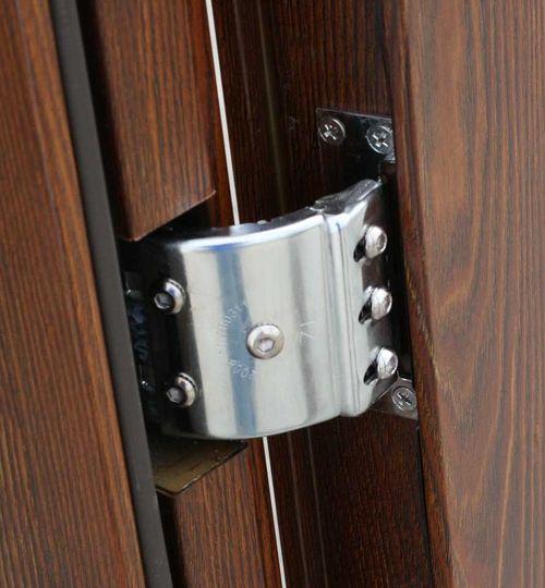 Скрытые петли входной двери