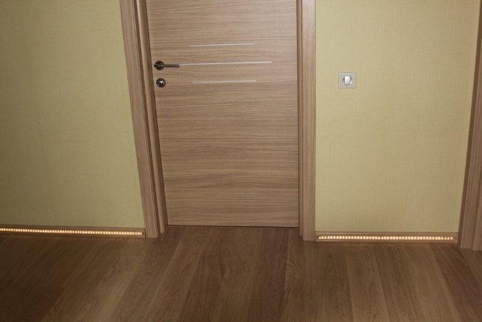 Сочетание дверей и пола