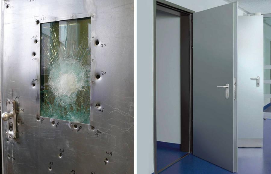Пуленепробиваемая дверь