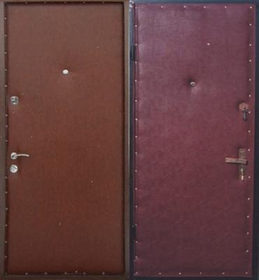 Входная дверь эконом сегмента