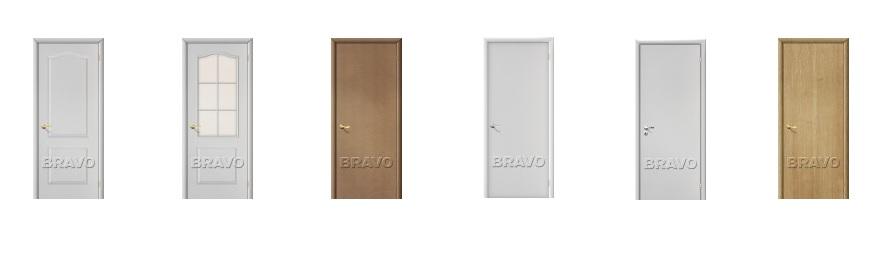 Строительные двери фабрики Браво