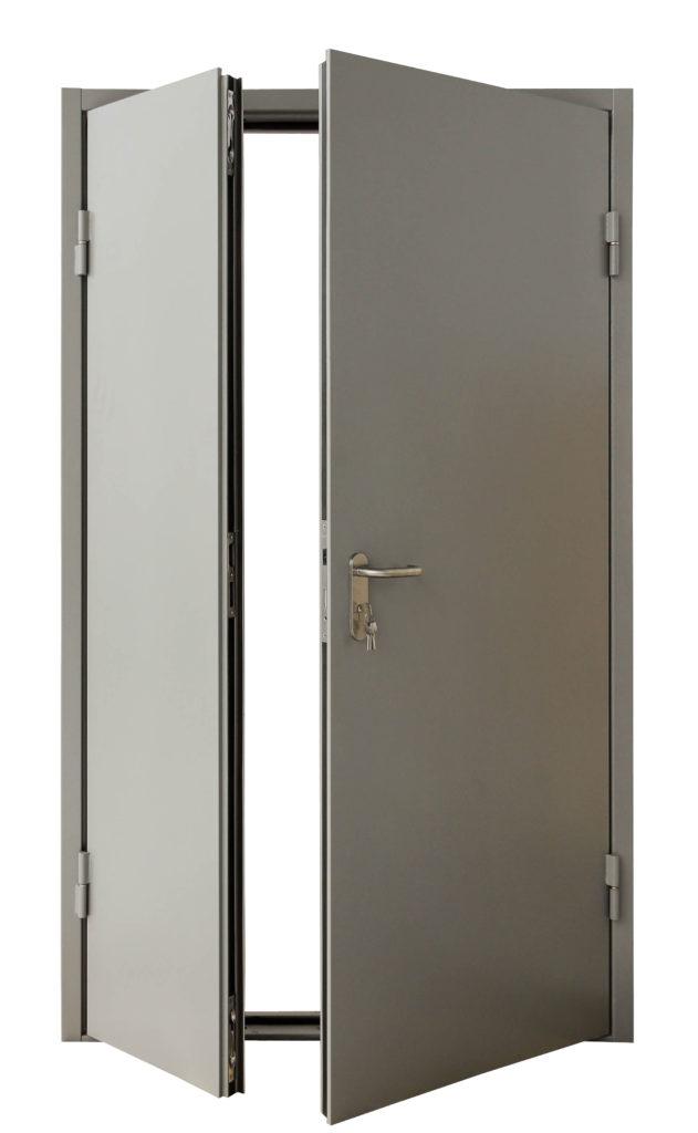 Металлическая огнеустойчивая дверь