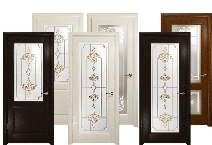 Образцы дверей ульяновской фабрики