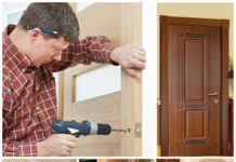 Порядок установки межкомнатной двери