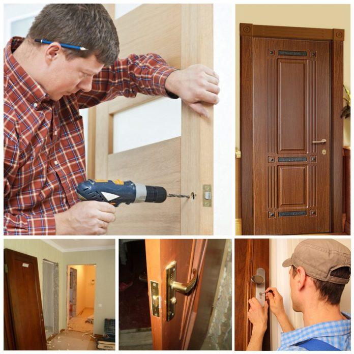 Порядок установки дверей своими руками 1077