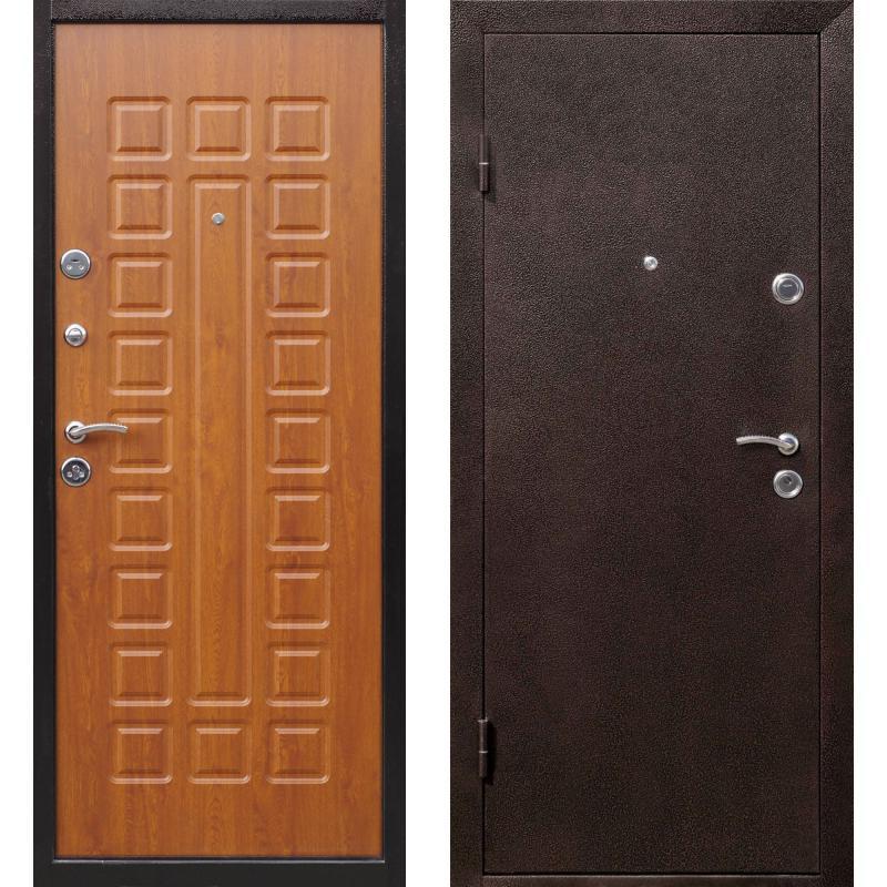 Дверь с отделкой МДФ