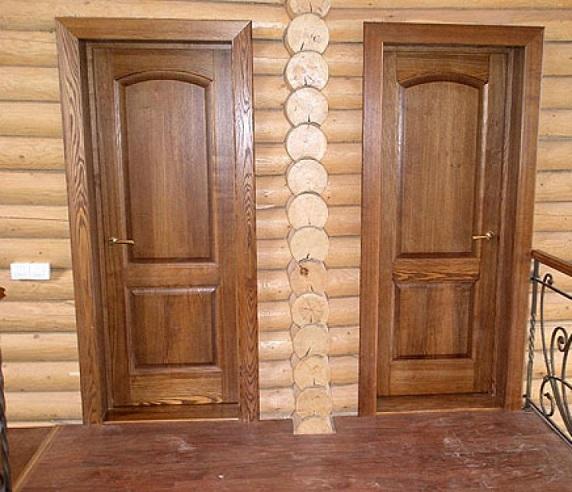 Внутренние двери из дерева