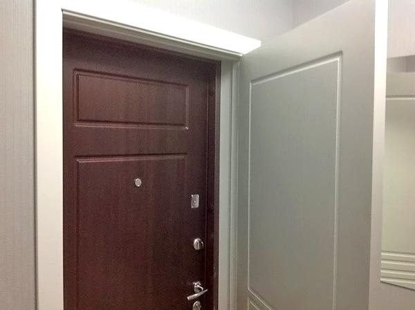 Две входных двери