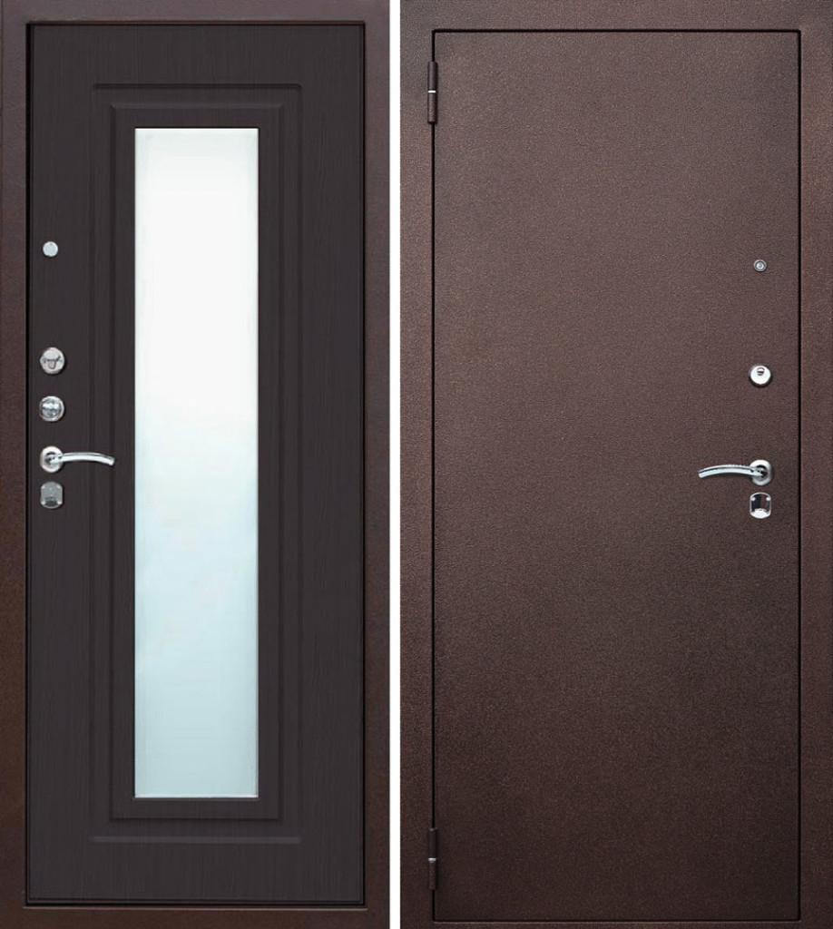 Дизайн двойных дверей