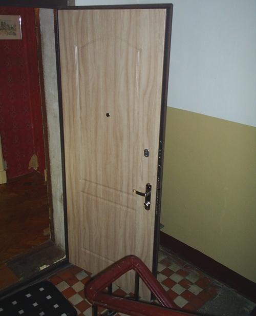 двойные двери входные металлические в квартиру или частный дом