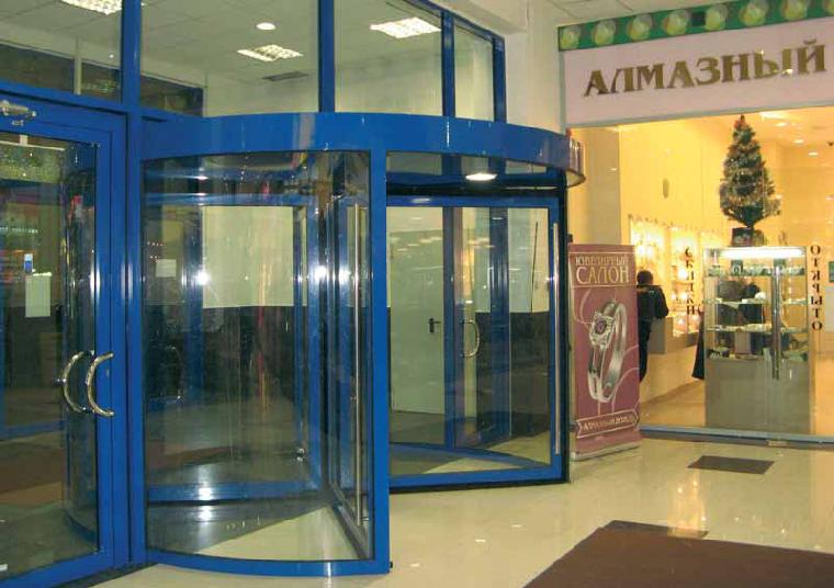 Принцип работы автоматических дверей