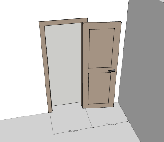 Стандарт проема двери