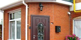 Ковка на двери