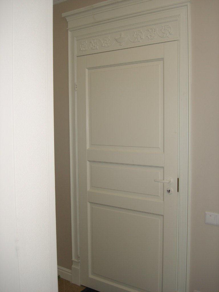 Дверь белого цвета из Финляндии