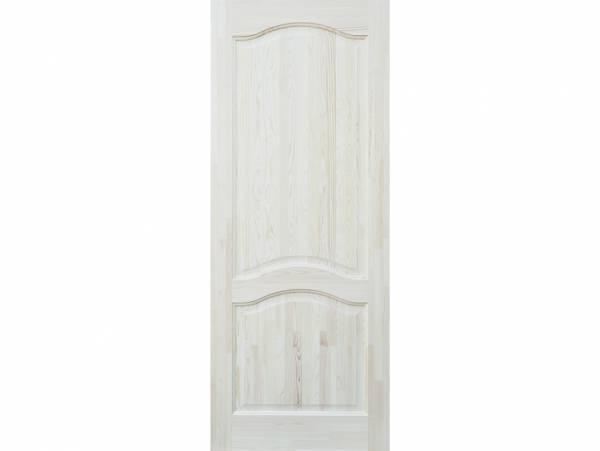 Простая белая дверь