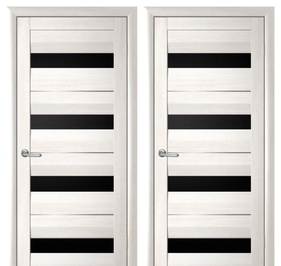 Двери из шпона белого цвета