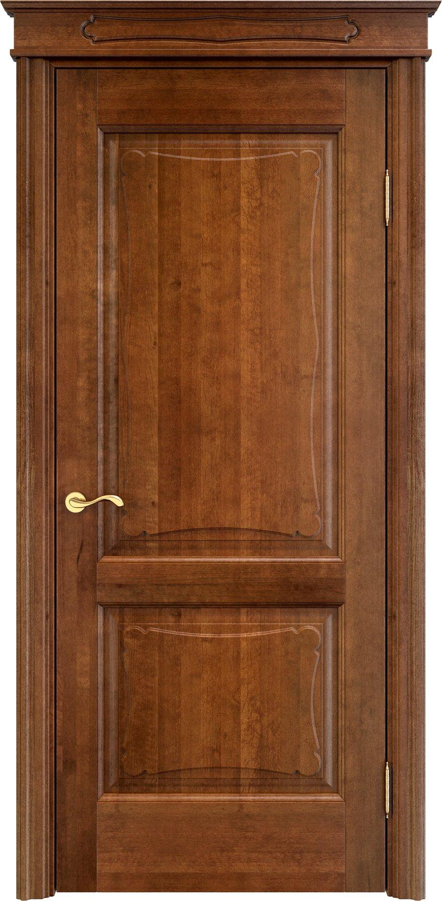 Полотно двери из ольхи