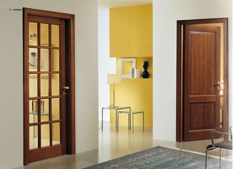 Двери из ольхи в интерьере