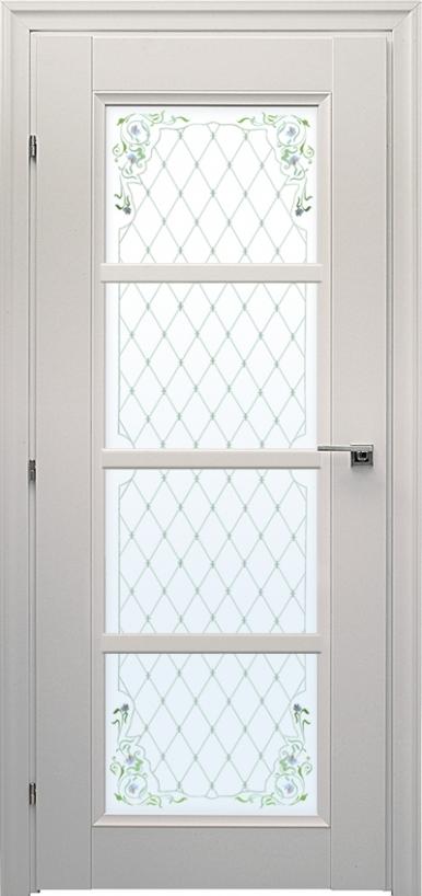 Дверь краснодеревщик со стеклом