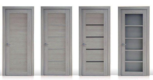 Двери цвета серый дуб