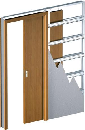Фальш стена для раздвижной двери