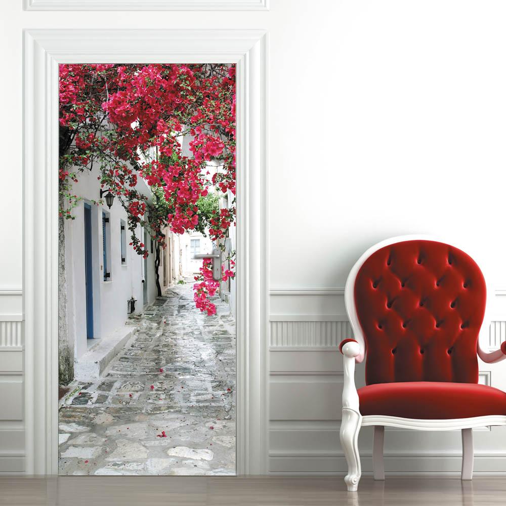 Фотография на межкомнатной двери