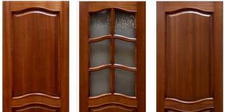 Разновидности дверей из дерева